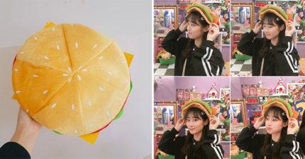 超吸眼球「漢堡貝蕾帽」韓妞圈大爆紅 「番茄+生菜+起司」讓魯妹也變美味!