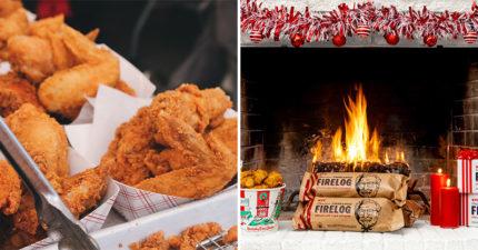 肯德基推出燒起來「有炸雞味的木頭」 超有誠意加「11種香料」讓你欲罷不能