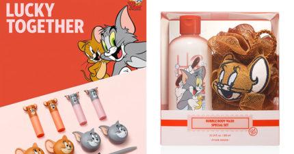 ETUDE HOUSE迎鼠年推《湯姆貓與傑利鼠》聯名 超萌設計女孩必搶!