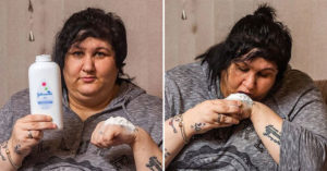 大媽迷上「吃爽身粉」超過10年 自曝「每半小時吃一次」為它狂噴31萬!