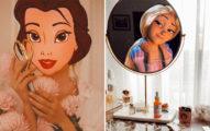 15張比《曼哈頓奇緣》更完美的「當迪士尼公主走進現實」夢幻合成照!