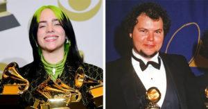 怪奇比莉「橫掃葛萊美」4項最大獎 打破「40年紀錄」泰勒絲也贏不了!