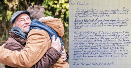 兒子出櫃老媽氣到「斷絕關係」 阿公「寫信挺孫」網看完爆淚:支持選總統!