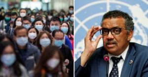 WHO終承認疫情「擴散中國以外44國」 譚德塞:武肺恐變「全球大流行」!