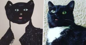 捐款就送你「寵物醜畫像」活動爆紅 志工認真「惡搞毛孩」主人超滿意!