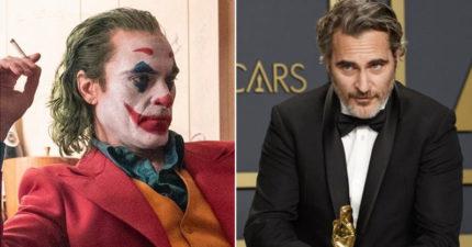 《小丑》「奧斯卡影帝」瓦昆完整感言!「我以前太自私...」全文感人肺腑