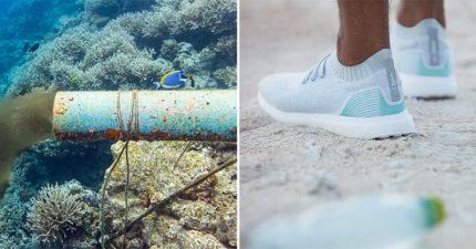 愛迪達用「海洋塑膠垃圾」製造再生鞋 超環保「品質性能」比一般鞋還完美!
