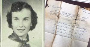高中弄丟皮包「65年後找回」奶奶超激動 「當年情書」曝光:想邀妳去舞會