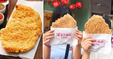繼珍奶之亂後日本掀起「台灣大雞排」風潮 IG潮妹最愛「比臉大」照!