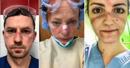 20張武肺前線醫護的「偉大證據」 你嫌「隔離好麻煩」他們正面迎戰病毒!