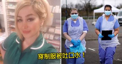醫護剛值班完「被路人吐口水」罵病毒傳播者 她無奈淚崩:已不敢穿制服