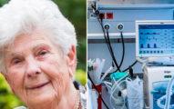 90歲奶奶「自願放棄呼吸器」給年輕病患 直言「我活夠久了」2天後病逝