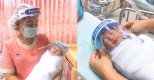 確診年齡「不斷下降」醫院訂製「迷你防疫面罩」捍衛寶寶!
