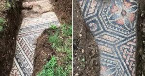公元3世紀「古羅馬豪宅」出土 地磚完整到像「昨天剛鋪」!