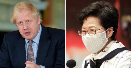 國安法將強行通過...媒體爆:英國準備接收香港難民!