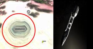 他用Google發現「外星人基地」證據顯示「太空船剛飛離」