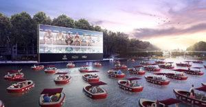 巴黎啟動「水上電影院」讓民眾「在船上約會」還能防疫!