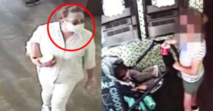 「故意朝寶寶咳嗽」惡女終於被認出 竟「為人師表」準備被逮捕!