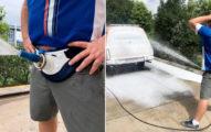 男人新玩具「褲襠火箭炮」洗車還能練準度 推出馬上賣到缺貨!