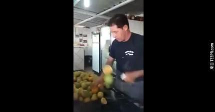 超強的柳丁刀法