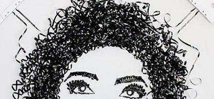 Erika-Simmons的錄音帶藝術
