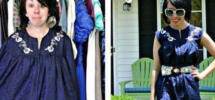 Jillian-Owens把舊衣服變成時尚的服飾