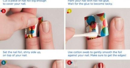 9個你可以自己DIY的指甲彩繪,馬上讓你變成人群中的焦點!