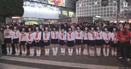 日本的「東京萬聖節街頭派對」讓我想要每一年都去那裡過萬聖節!