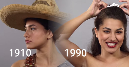 墨西哥女性100年