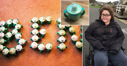14歲自閉少年「10年專用喝水杯停產」拒絕喝水,廠商霸氣說:「我做500個送你!」