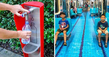 22個讓你「拍手叫好」的城市設計巧思 「北捷地板」讓台灣被看到!