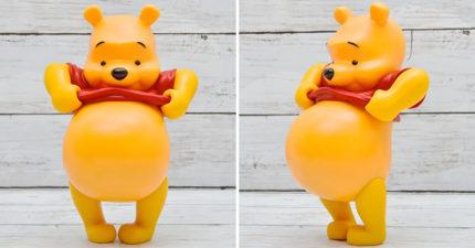 迪士尼推「露肚肚小熊維尼」限定復刻版 啤酒肚「Cos中年大叔」超想捏❤