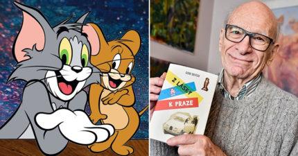 《湯姆貓與傑利鼠》傳奇動畫師「吉恩戴奇過世」享耆壽95歲!