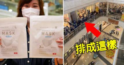 UNIQLO「涼感口罩」洗完重複用 民眾「擠爆搶購」更危險!
