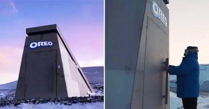 OREO建「末日金庫」保護餅乾 世界末日也不用擔心吃不到!