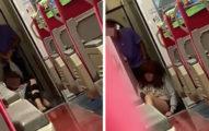 台鐵女遭「狂踹頭」手腳卡車門!乘客「全跑到其他車廂」警:柔性勸導
