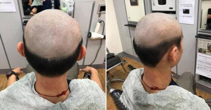 高雄媽怕染疫!押兒子到髮廊「剪成禿頭」