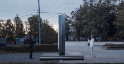 歐洲蓋「任意門入口」連結不同城市 即時向「世界另一端」說嗨
