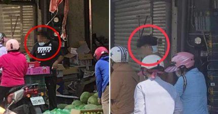 水果攤販「口罩戴後腦勺」 「累犯7次罰不怕」:再犯勒令停業