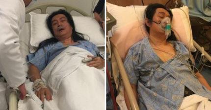 黃安「上吐下瀉」癱軟在床 不忘唱衰台灣疫情「好不了的啦!」